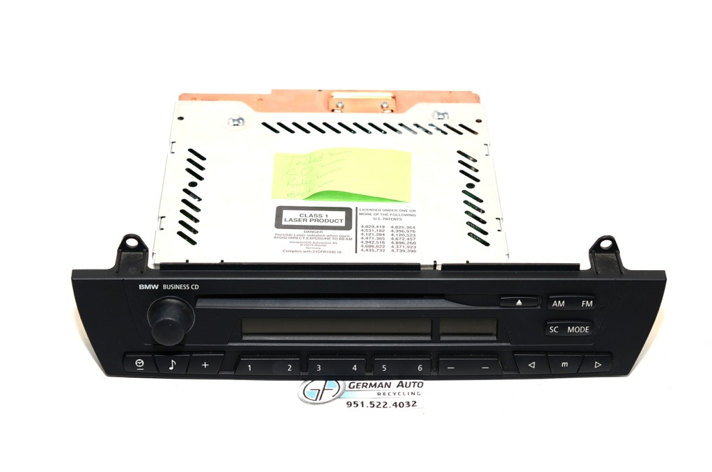 Bmw E83 E85 E86 X3 Z4 Business Cd Cd53 Player Radio Stereo 01 2007 65129138430 Ebay