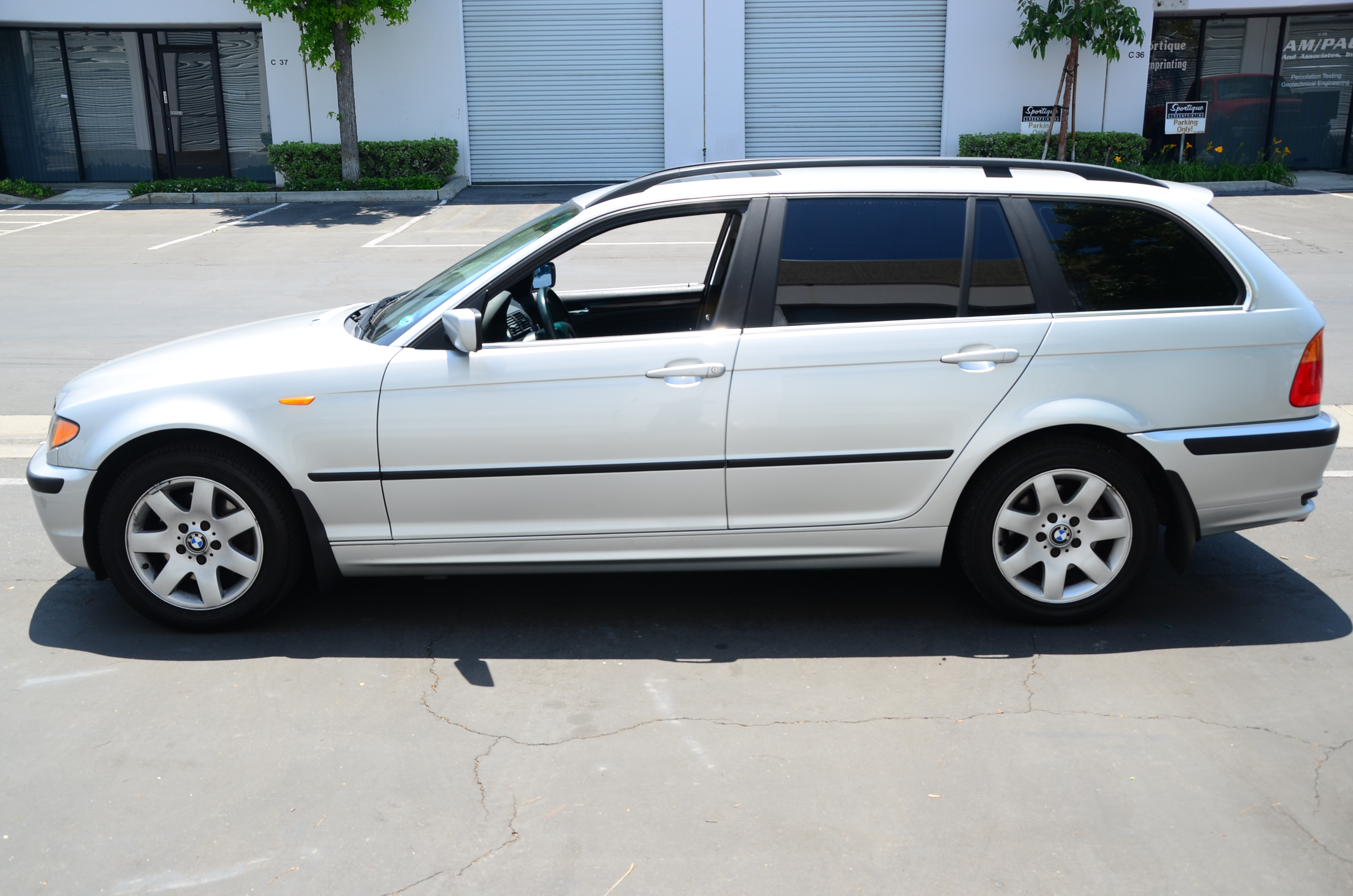 Purchase Used Bmw 2003 325xi Touring Awd Wagon Silver On